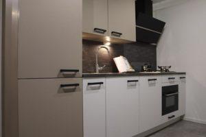beige witte keuken