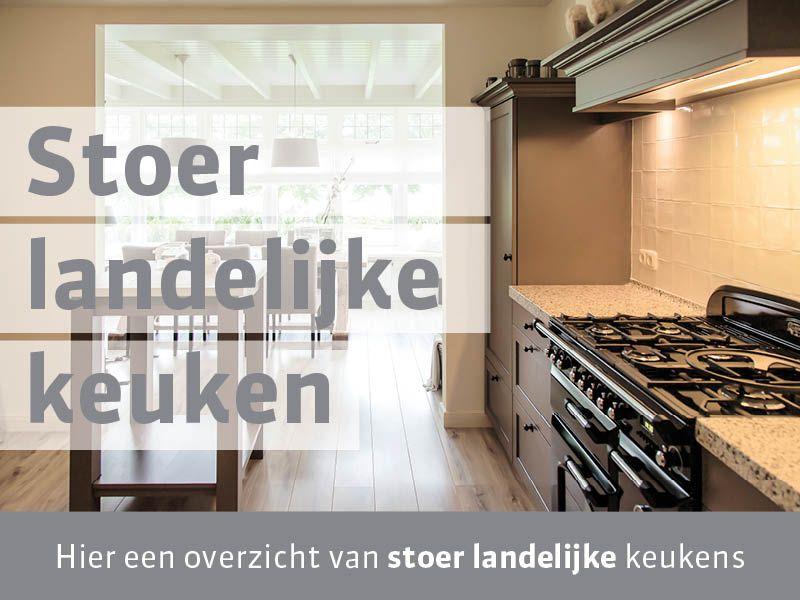stoer landelijke keukens