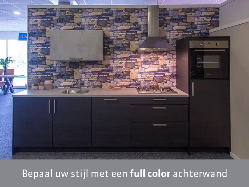 full color keuken achterwand