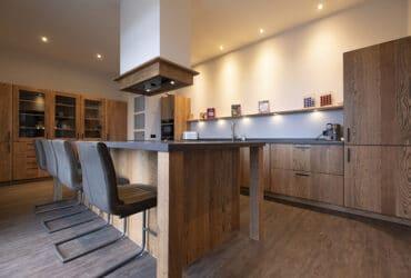 robuust houten keuken